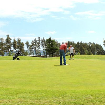 Golfing in the Scottish Borders